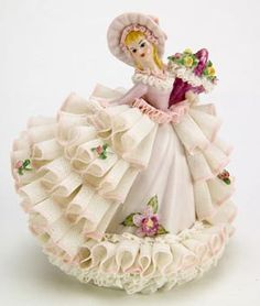 I had a Dresden Figurine very similar to this... wish I still had it.