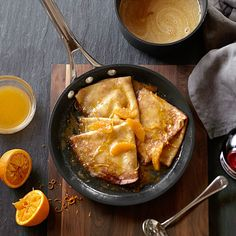 May 6th, 2016 - National Crêpes SuzetteDay! » Crepes Suzette » williams-sonoma.com