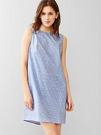 Printed twist-back dress.  Grab superb discounts up to 40% Off at Gap using Discount & Voucher Codes.