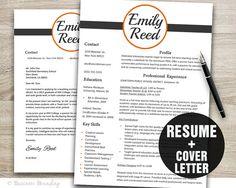 Designer Resume Template Instant Download  by BusinessBranding, $15.00
