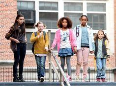 ANNIE's Quvenzhane Wallis & Orphans Spotted On Movie Set; Logo ...