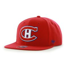 Montreal Canadiens The Shaft Red 47 Brand Adjustable Hat - Detroit Game Gear Hockey Hats, Detroit Game, Yankees Hat, Montreal Canadiens, Detroit Red Wings, Hat Making, New York Yankees, Nhl, Blue