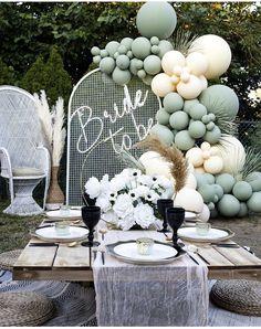 Balloon Decorations Party, Balloon Garland, Bridal Shower Decorations, Birthday Party Decorations, Party Themes, Wedding Decorations, Balloon Arch, Dream Wedding, Wedding Day