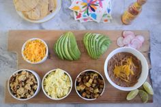 Breakfast Taco Bar - love this idea!  | Cupcakes & Cashmere