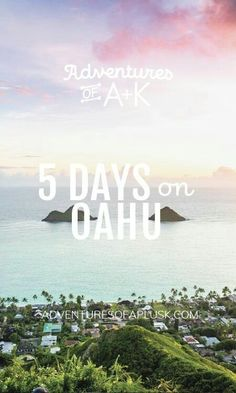 5 days on Oahu itinerary - Hawaii - oahu hawaii vacation travel tips - Hawaii Vacation Tips, Hawaii Travel Guide, Hawaii Honeymoon, Vacation Trips, Beach Trip, Vacation Travel, Vacations, Travel Destinations, Vacation Style