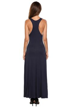 Maternity Outfits - best maternity dresses : Zeagoo Womens VNeck Stretchy Sleeveless Racerback Jersey Pleated Casual Solid Maxi Dress >>> Find out more testimonials of the item by going to the web link on the image. (This is an affiliate link). Maternity Styles, Maternity Maxi, Casual Maternity, Maternity Outfits, Maternity Fashion, Picture Link, Street Styles, Fashion Brands, High Neck Dress