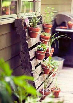 Idee per un orto verticale fai da te - Fotogallery Donnaclick