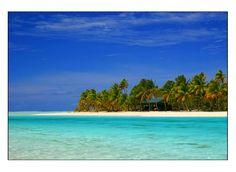 One Foot Lagoon - Aitutaki, Cook Islands