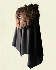 Cloak – Wool with Fur Mantle