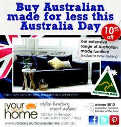 Australia Day press ad