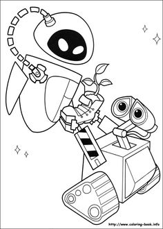 Wall E Online Coloring Pages Printable Book For Kids 24