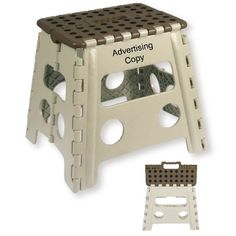 Picture of front and back of Recalled Folding Step Stool