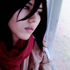 My window is dirty... I feel as though I should cosplay Levi and take a picture like this one with some comment. Oh and expect some Levi tomorrow  #mikasacosplay #mikasaackerman #mikasa #shingekinokyojincosplay #shingekinokyojin #snkcosplay #snk #aot #aotcosplay #attackontitan #attackontitancosplay #anime #animecosplay #girlcosplay #girlcosplayer #femalecosplayer #cosplay #cosplayer