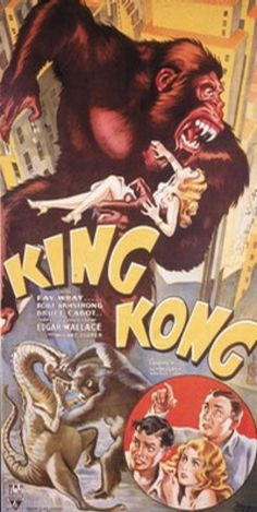 movie ad for King Kong-1933