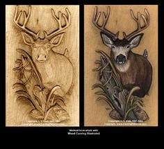 Free Gourd Patterns to Print | Woodcarving, Projects Gallery, Carving Instruction