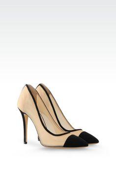 Giorgio Armani Women Closed Toe Slip Ons - Giorgio Armani Official Online Store