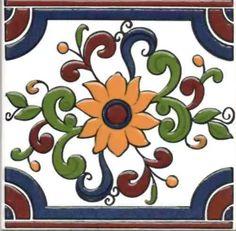 azulejos-mayolica con relieve  patio español  soy fabricante