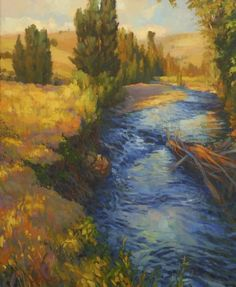 My favorite Steve Henderson painting. Our local rivers are simply beautiful.