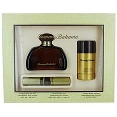 Tommy Bahama By Tommy Bahama Cologne Spray 3.4 Oz & Deodorant Stick 2.5 Oz & Cologne Spray .5 Oz by Tommy Bahama. $113.98. COLOGNE SPRAY 3.4 OZ & DEODORANT STICK 2.5 OZ & COLOGNE SPRAY .5 OZ Design House: Tommy Bahama Year Introduced: 2005 Fragrance Notes: Patchouli Bergamot Wood Vetiver Coriander Sage And Ginger Root. Recommended Use: Casual