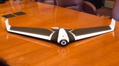 The wing-shaped drone promises to be as easy to fly as the company's quadcopters, so that anyone can pilot one.