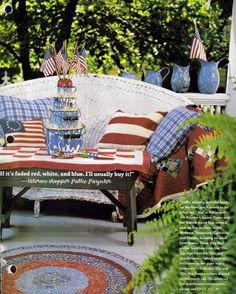 junkgarden: Patriotic Porches