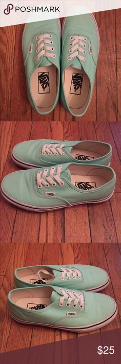 Vans Classic Sneakers Color: mint/white. Vans Shoes Sneakers