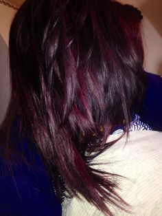 Red violet 4RV hair color