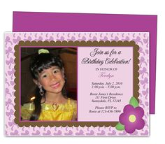 Kids Party : Giggles Kids Birthday Invitation Template