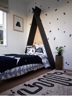 Pearson and Projects - Kid's Teepee Room