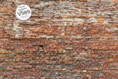 Vliesová fototapeta stará cihlová zeď XXL4-025 4-dílná / Vliesové fototapety staré cihly Bricklane Komar (368 x 248 cm)