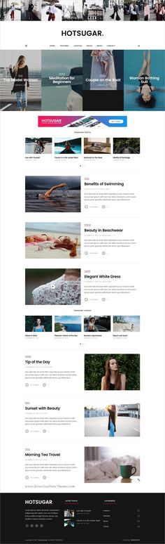 HotSugar is beautifully design 6in1 responsive #WordPress theme for creative #bloggers and #writer website download now➩ https://themeforest.net/item/hotsugar-responsive-wordpress-blog-theme/17801432?ref=Datasata