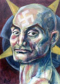 "Saatchi Art Artist Clara de Bobes; Painting, ""Belial"" #art Light Painting, Saatchi Art, Oil On Canvas, Original Paintings, Portrait, Artist, Fictional Characters, Headshot Photography, Artists"