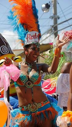 It's official Carnaval in Jacmel, South of Haiti