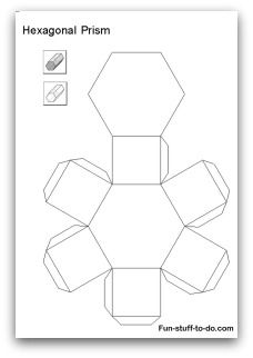 Printable Shapes: Alphabetical list of 3D geometric shapes, nets ...