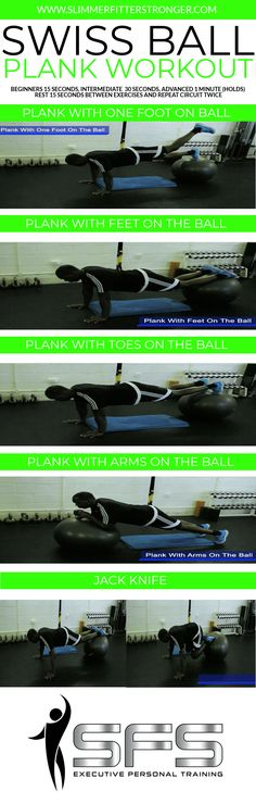 28 swiss ball ab exercises 28 swiss ball ab exercises - here are 28 of the best swiss ball exercises for the abs and whole body. Bosu Workout, Plank Workout, Ab Workout At Home, At Home Workouts, Core Strength Exercises, Core Exercises, Strength Workout, Swiss Ball Exercises, Stability Ball Exercises