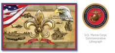 United States Marine Corps Commemorative Lithograph  #usmc  Check Facebook and www.huntstudio.com for special promotions