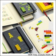 Want one of these. Limited edition Lego Moleskine journals. Awesome. @Morgan Beeching