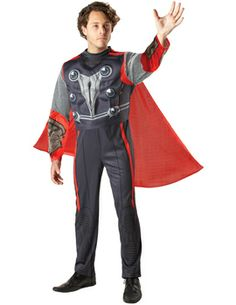 Thor Fancy Dress Costume Thor Fancy Dress Costume [FD73525] - £36.99 : Get It On Fancy Dress Superstore, Fancy Dress & Accessories For The Whole Family. http://www.getiton-fancydress.co.uk/tvmusicfilm/superheros/theavengers/thorfancydresscostume#.UpEqCycUWSo