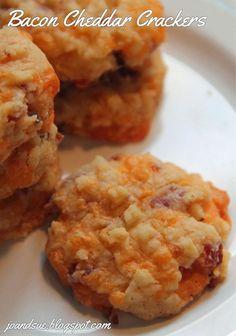 Jo and Sue: Bacon Cheddar Crackers