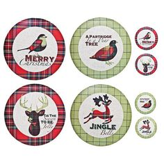 Denby Festive Christmas Placemats and Coasters set of 4 #Denby #Holiday