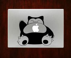 Snorlax Pokemon Decal Stickers For Macbook Pro Air Retina 1. Easy application in minutes.2. High resolution, full detail precision cut.3. Decals are cut on High Quality Vinyl. (Oracal 631)4. Compatibl