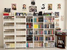 Personal Library, Bookcase, Shelves, Home Decor, Shelving, Decoration Home, Room Decor, Book Shelves, Shelving Units