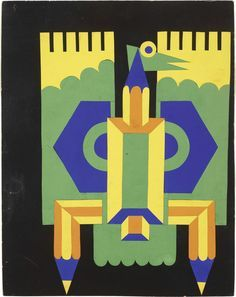Depero (4) Italian Futurism, Vintage Graphic Design, Italian Painters, Illustrators, Design Art, Opera, Illustration Art, Behance, Drawings