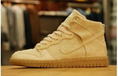 "NIKE DUNK HIGH DECONSTRUCTED ""GRAIN"""