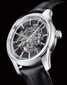 Omega De Ville Hour Vision Skeleton watch
