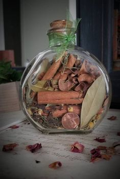 Prosperity Spell - Abundance Spell - Witch Bottle - Herbal Blessing - New Job Spell - Money Spell - Luck - Wiccan - Pagan - Altar Tools Jar Spells, Magic Spells, Wiccan Magic, Prosperity Spell, The Color Of Money, Witch Bottles, Spiritual Decor, Pagan Altar, Money Spells