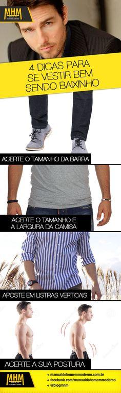 Como se vestir bem sendo baixinho