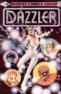 Ultimately a weak title, but #Dazzler was underrated for the longest as an effective hero. She finally embraced superhero status joining the #XMen in the late '80s. @Marvel