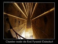 Although not as famous as those at Giza, the Red and Bent pyramids of Dashur in Egypt may have had the same function as the Great pyramid; m...