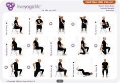 pb update: Chair Yoga for Seniors on Fridays at 9:30am in Bristol